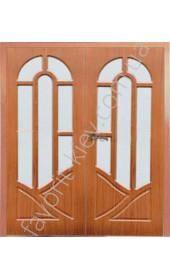 """Двери Аркадия двойные """"Дубрава"""""""