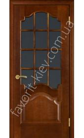 """Двери 8 каштан под стекло """"Terminus"""""""