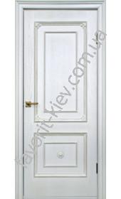 "Двери Бьянка ПГ (белая патина) ""Двери Беларусии"""