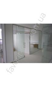Межкомнатные двери EraGlass Прозрачное раздвижное