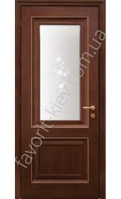 "Двери Франческа 2 ПО венге ""Woodok"""
