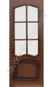 Міжкімнатні двері Інтер'єрні Двері Ладога 52-3 Класика