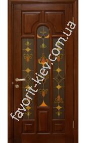 Межкомнатные двери Деревянные Двери Массив 3.1а