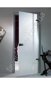 Межкомнатные двери Sklo + Glass Империя (1 сатин)