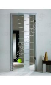 Межкомнатные двери Sklo + Glass Матрица 1