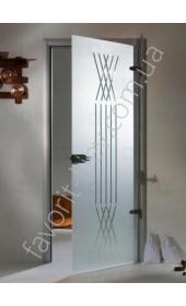 Межкомнатные двери Sklo + Glass XL