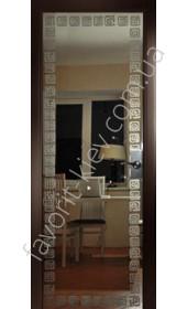 Межкомнатные двери СКС Модель 97 коричневая