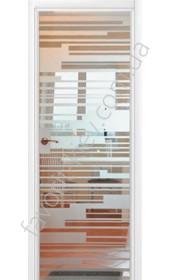 Межкомнатные двери СКС 291 модель белая