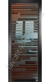 Межкомнатные двери СКС 291 черная