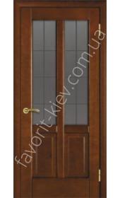"""Двери 19 ПО каштан, бел. дуб, венге """"Terminus"""""""